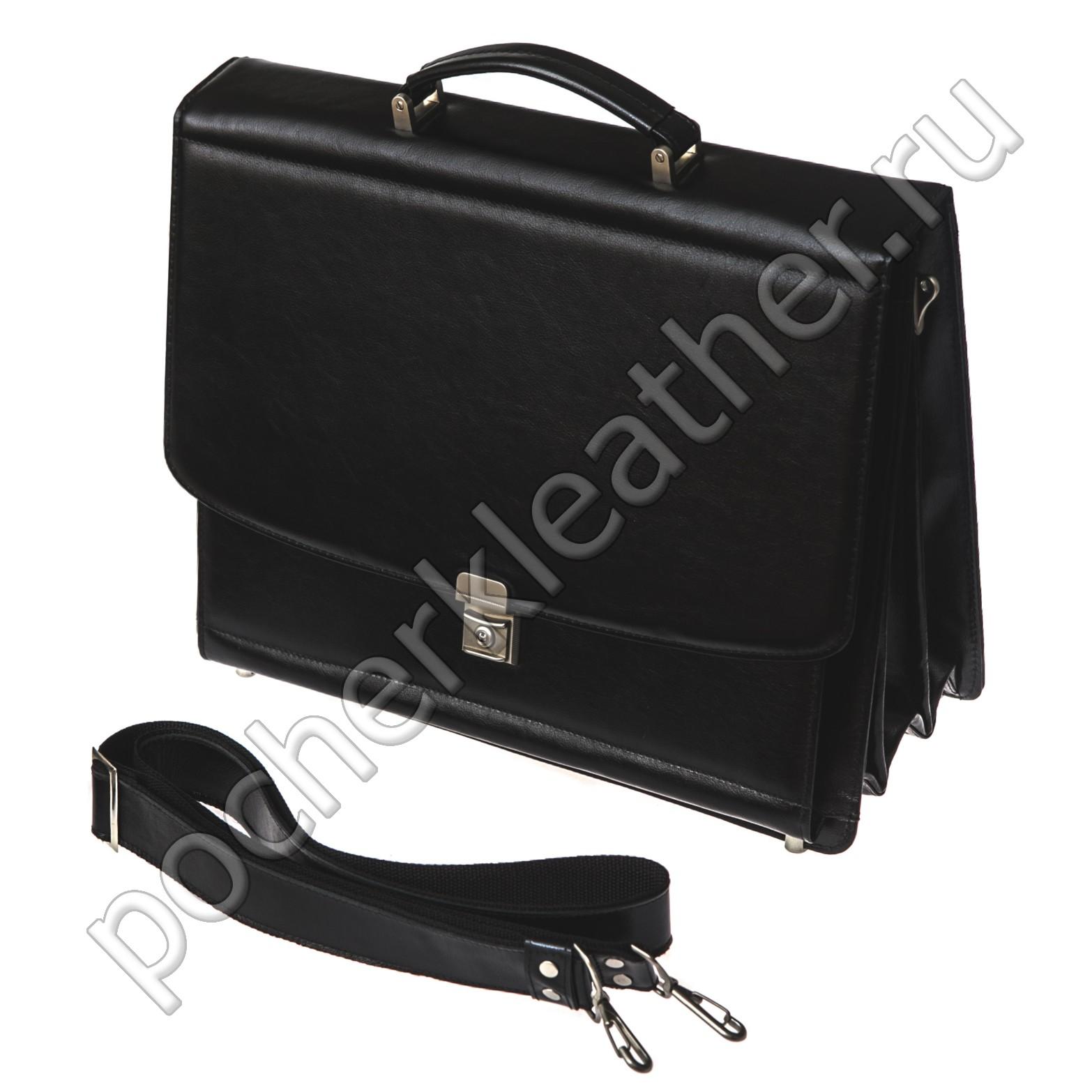 Четырехсекционный портфель на каркасной основе 2405