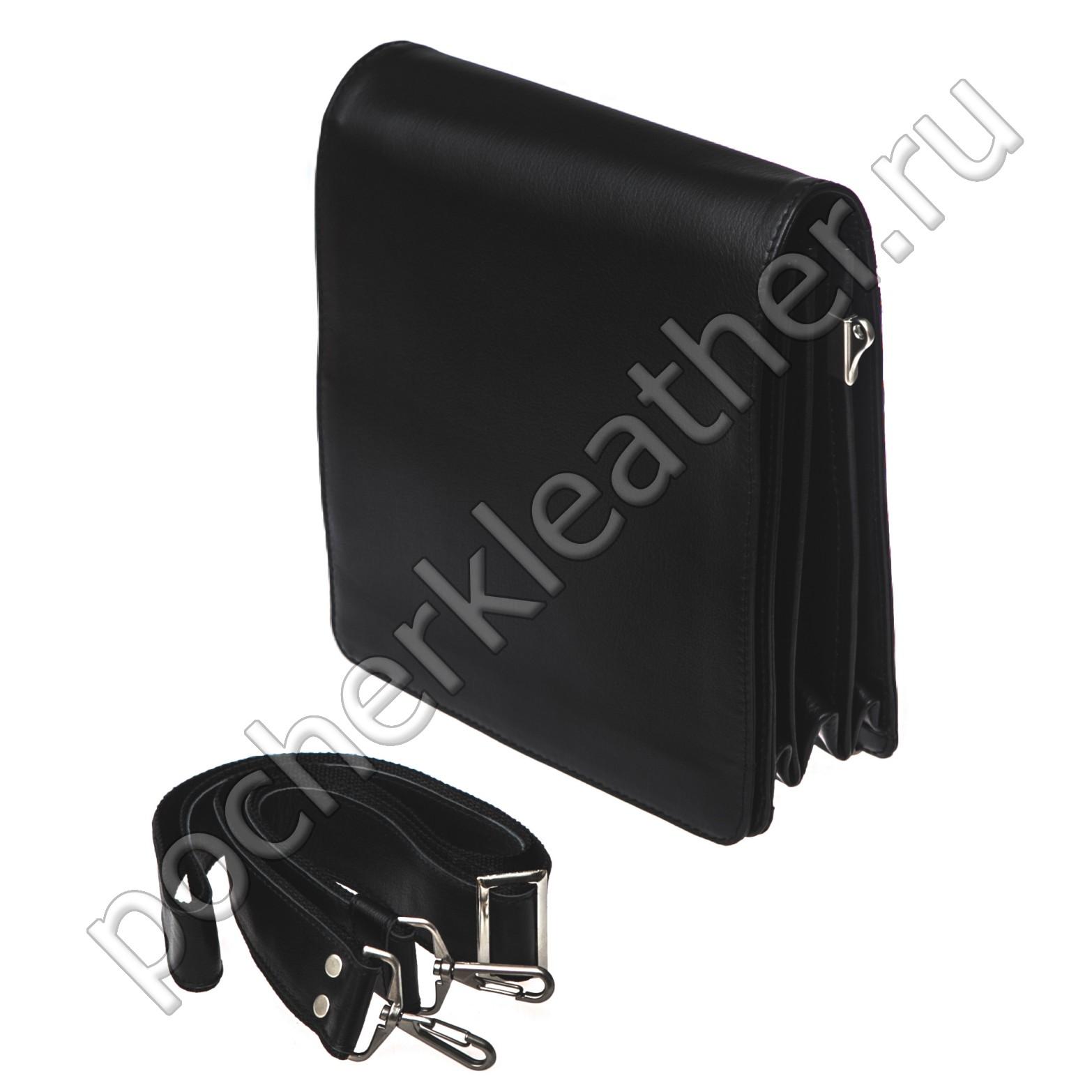Мягкий вертикальный портфель-планшет 2415