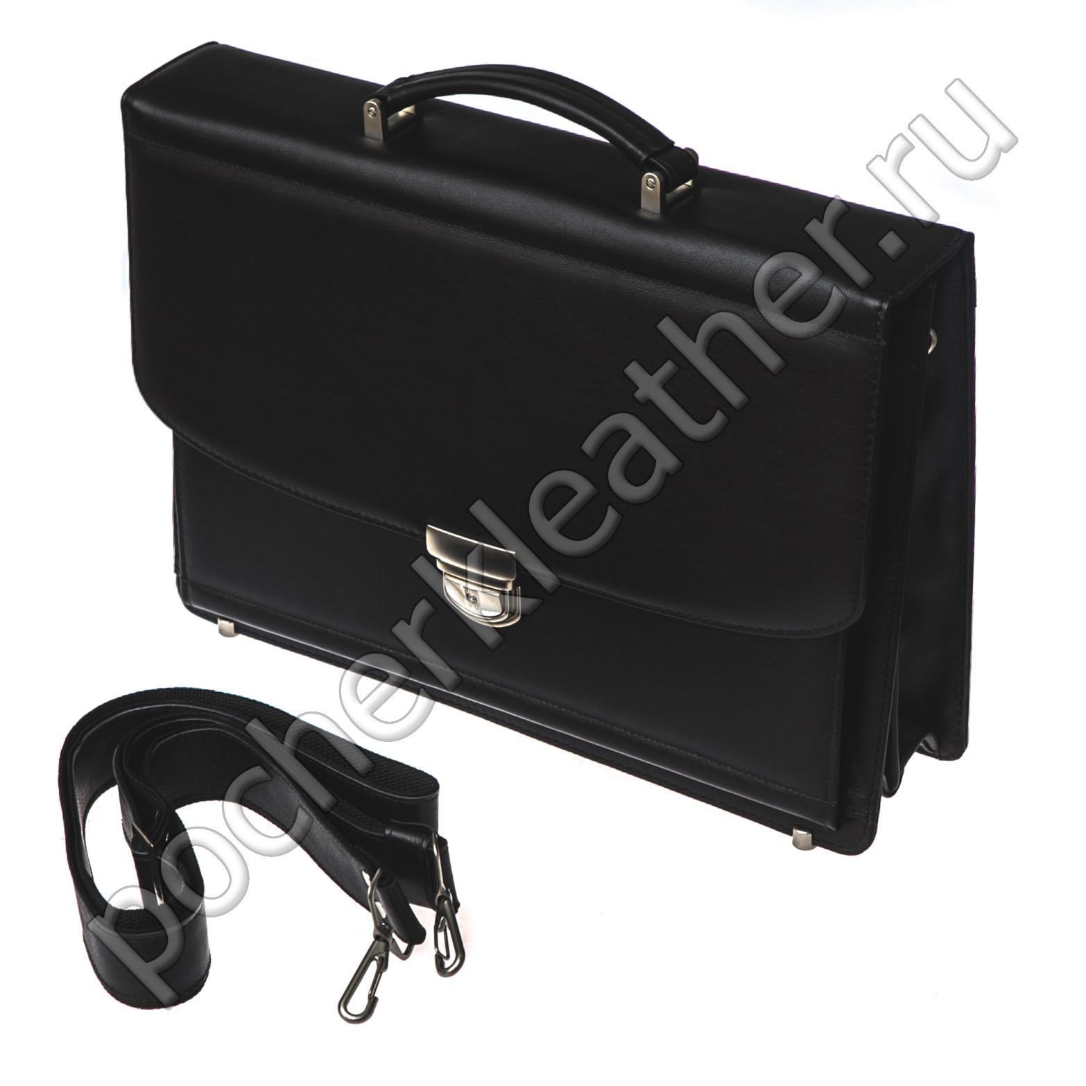 Трехсекционный портфель на каркасной основе 2411