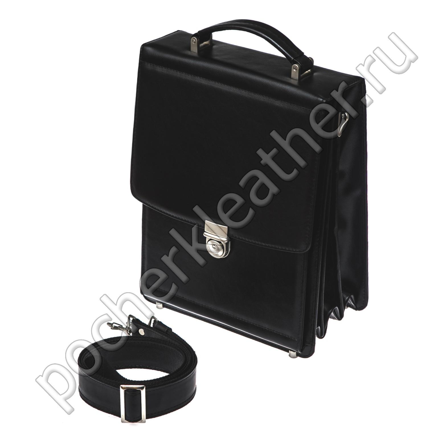 Вертикальный портфель на каркасной основе 2414